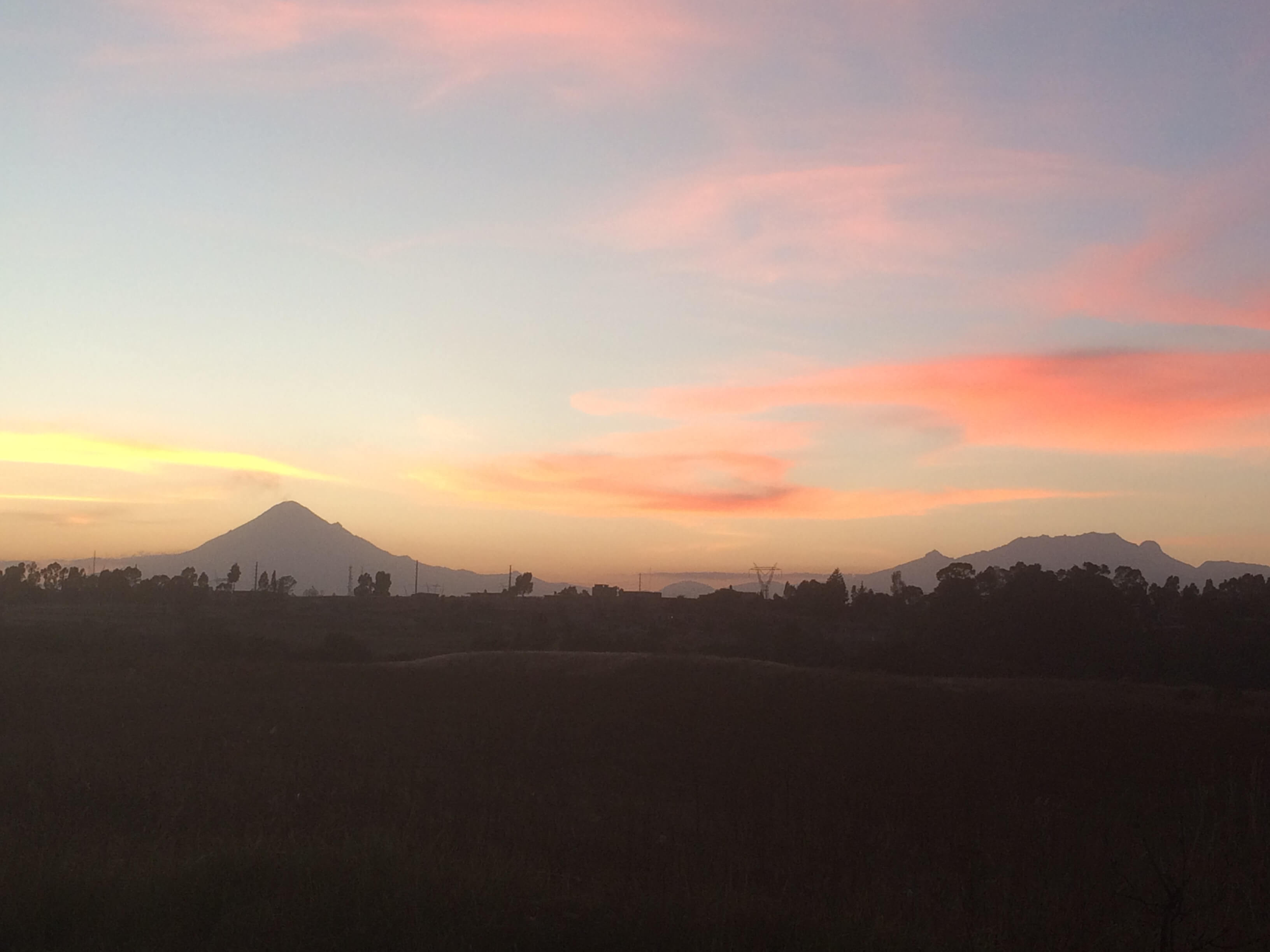 Der Vulkan Popocatepétl ist wieder aktiv