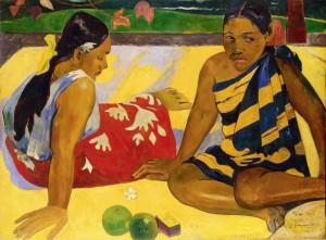 Quelles Nouvelles_Paul Gauguin