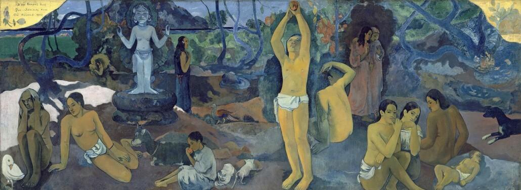 Woher kommen wir? Paul Gauguin
