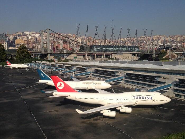 Flughafen im Miniatürk-Park