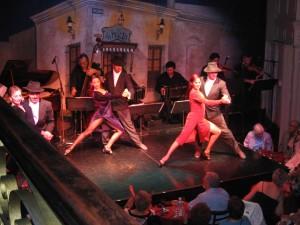 Traditionelle Tango-Show im Almacen.
