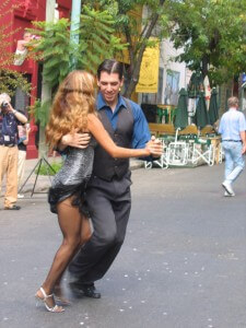 Tango in La Boca.