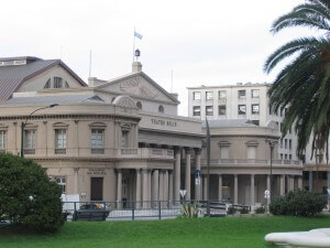 Das Teatro Solis in Montevideo