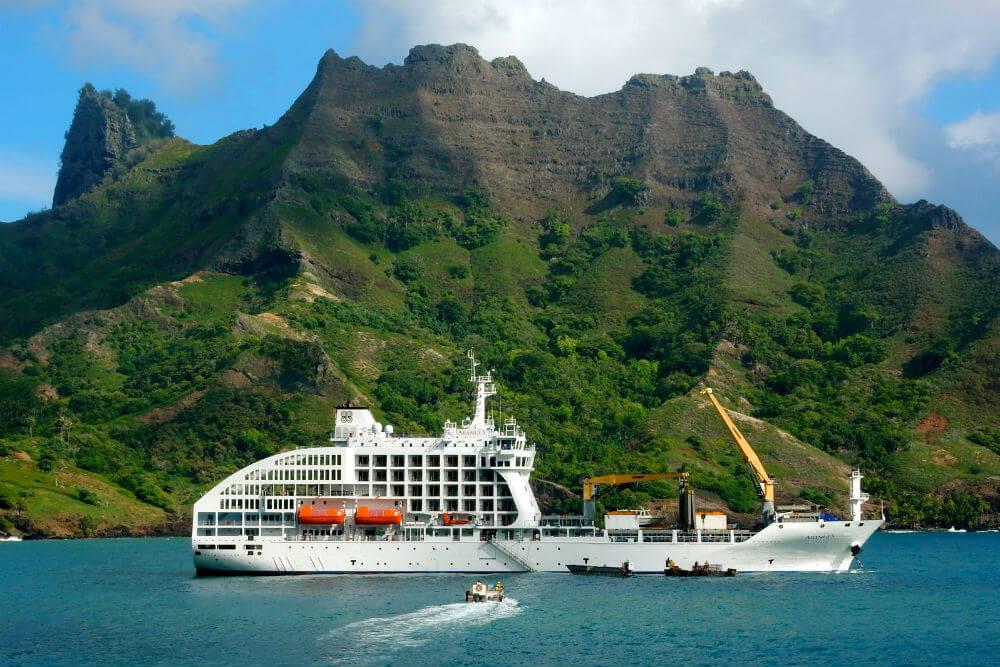 Aranui 5 - Mit dem Passagierfrachter durch die Südsee zu den Marquesas