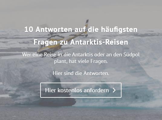10 Antworten auf die häufigsten Fragen zu Antarktis-Reisen