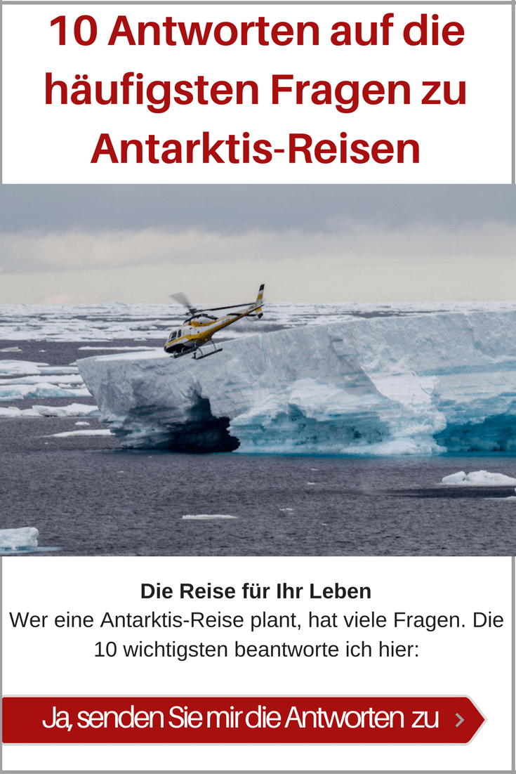 Reisen in die Antarktis und an den Südpol