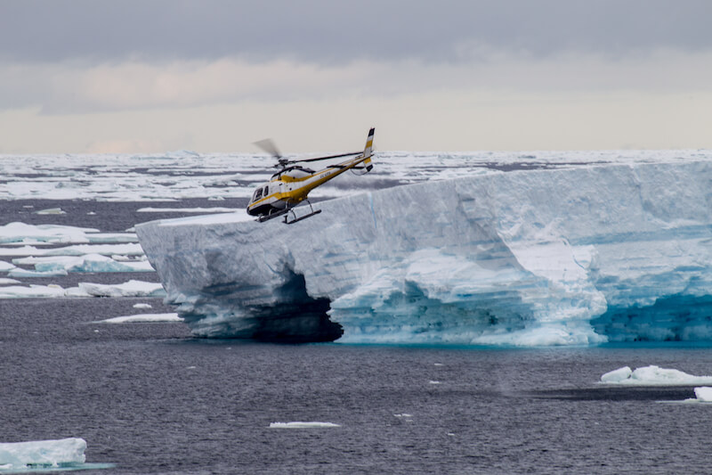 Das antarktische Rossmeer: Reisen in das größte Meeresschutzgebiet der Erde