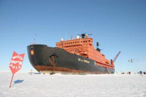 Mit dem stärksten Eisbrecher der Welt zum Nordpol
