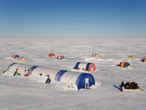 Flug-Expedition zum Südpol