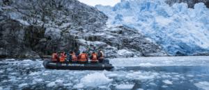 Australis - Zodiac-Anlandung Gletscher