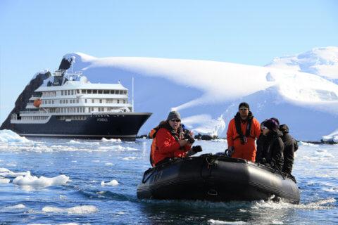 Hondius in der Antarktis