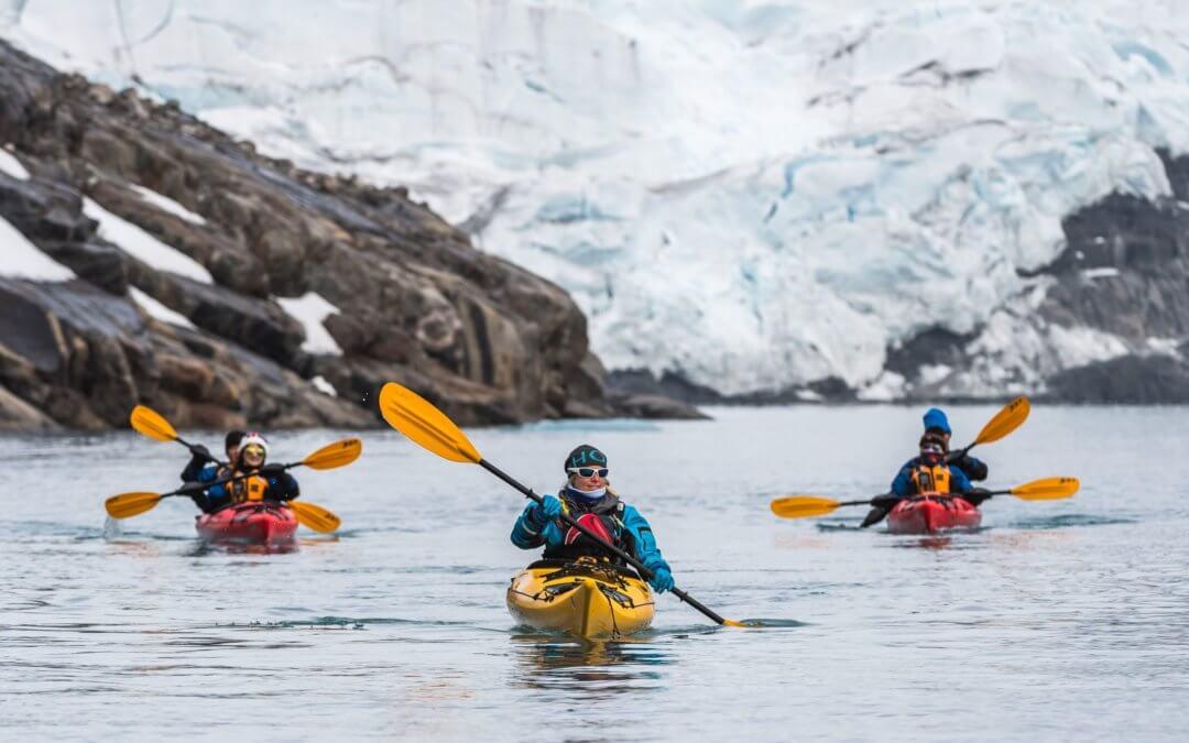 Basecamp Antarktis: Camping, Kajakfahren und weitere sportliche Aktivitäten in der Antarktis