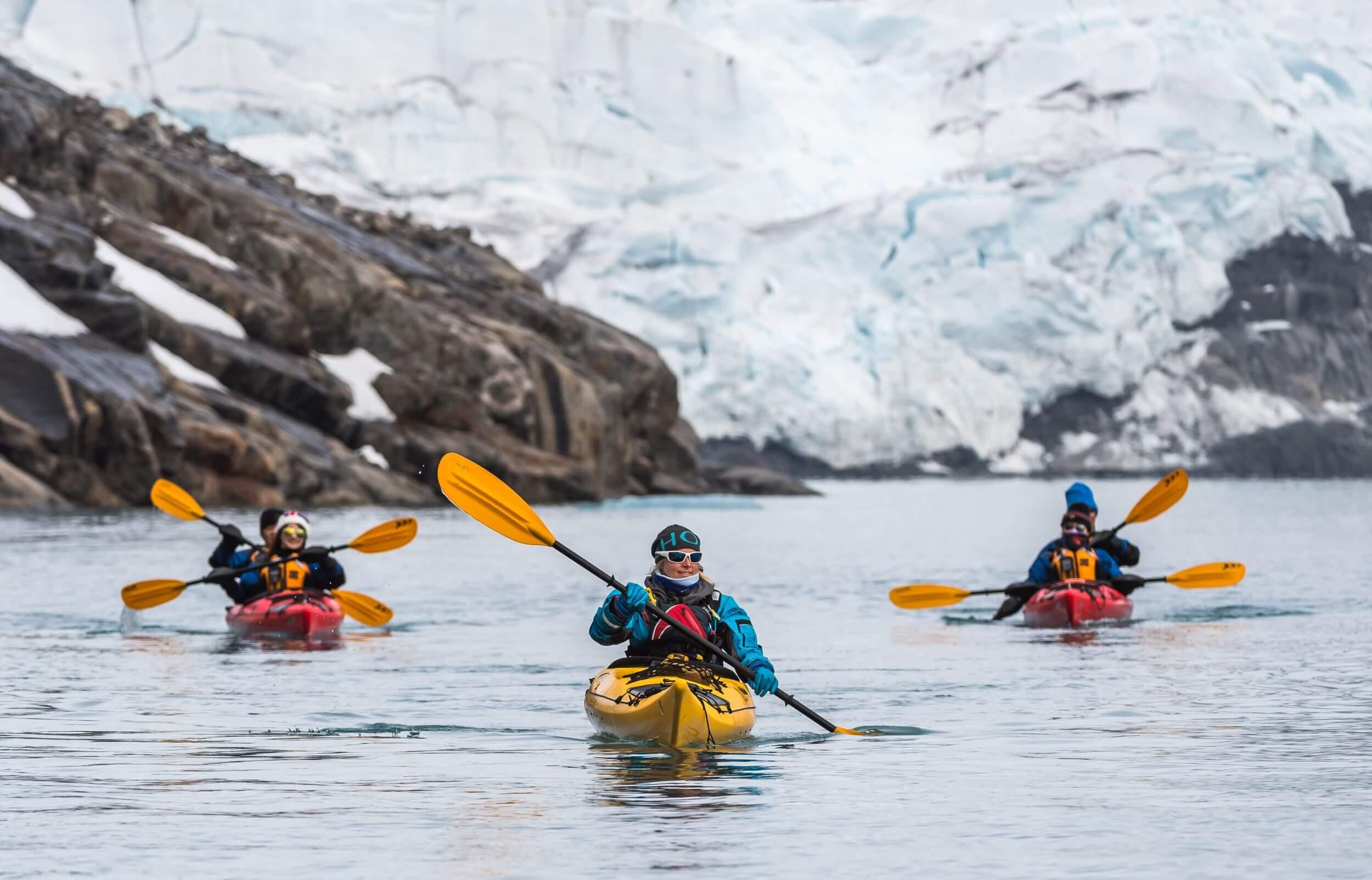 Kajaking in der Antarktis