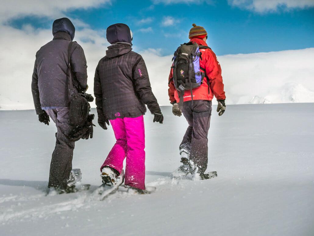 Schneeshuhwanderung Oceanwide Foto: Dietmar Denger