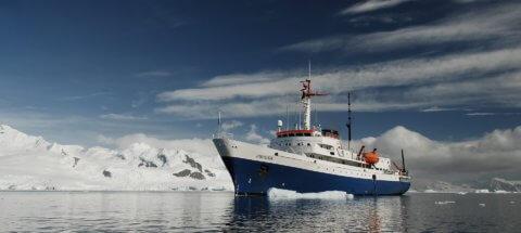 MS Ushuaia in der Antarktis