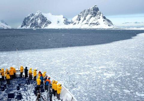Schiffsexpedition in die Antarktis