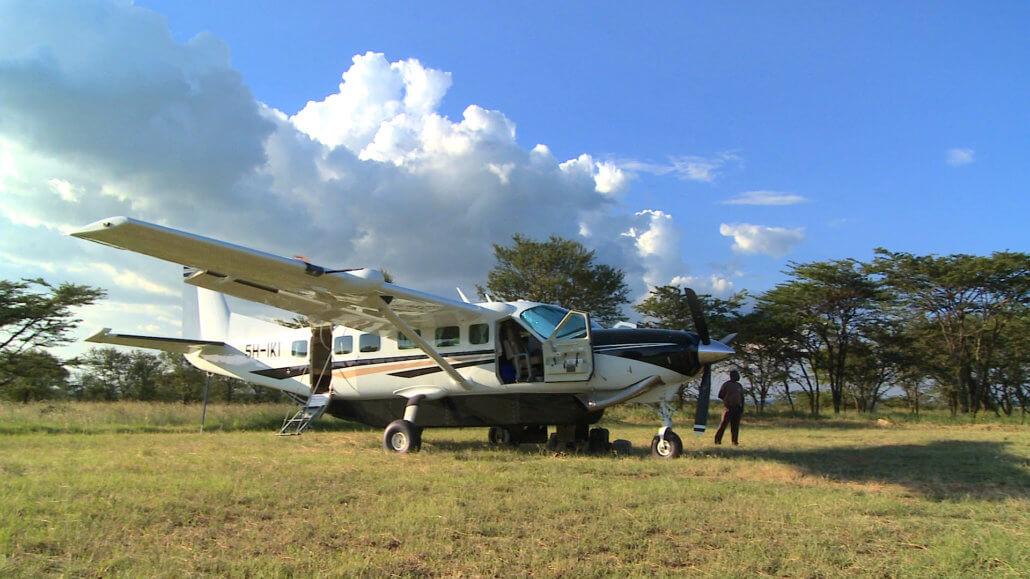 Mit der Cessna-Caravan auf SkySafari in Tansania