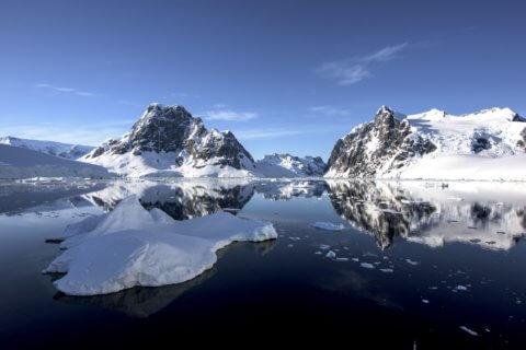 Landschaft in der Antarktis