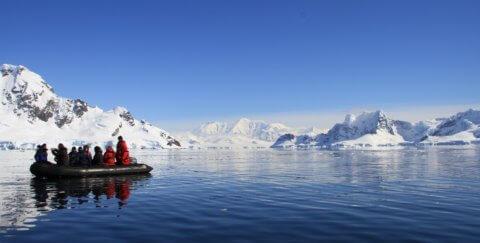 Zodiacfahrt in der Antarktis