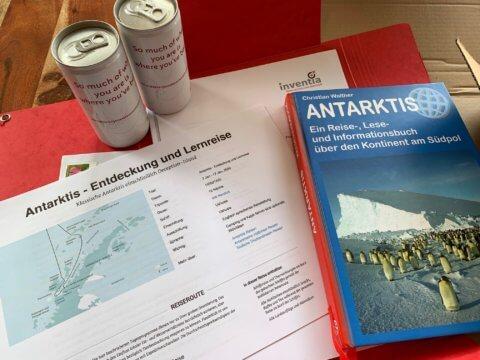 Antarktis Literatur