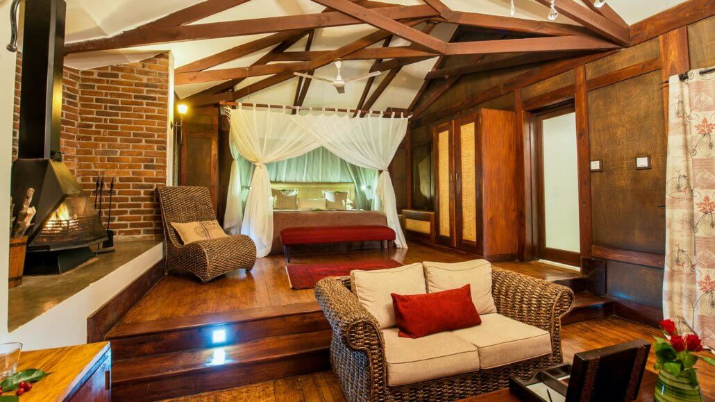 Plantation Room in der Arusha Coffee Lodge, Tansania