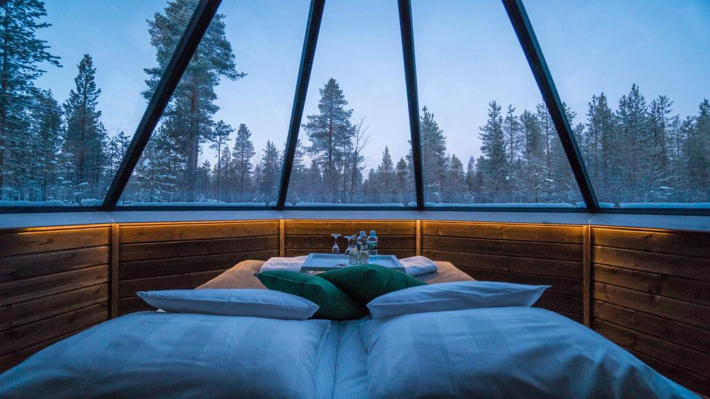 Aurora Village Finnland - Schlafzimmer