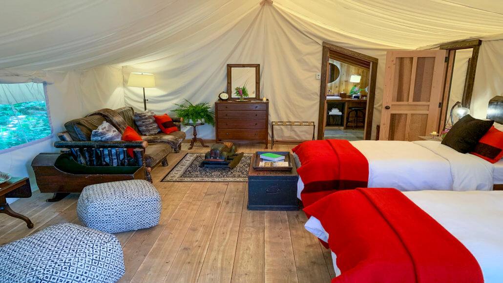Clayoquot Wilderness Resort Kanada Familienzelt