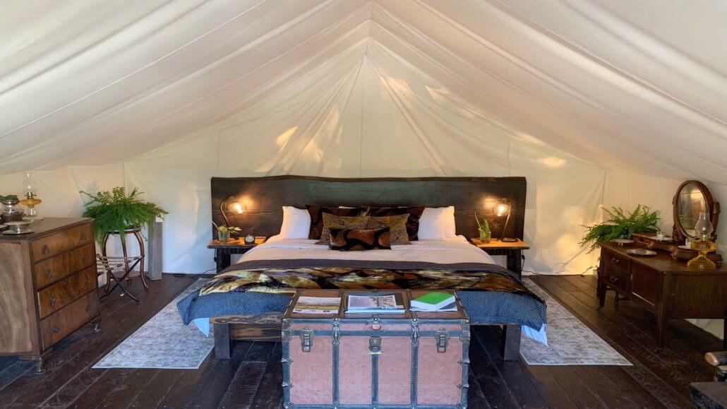 Clayoquot Wilderness Resort_Hillside_Deluxe_Zelt