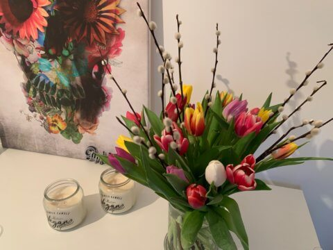 Danke für die Blumen!