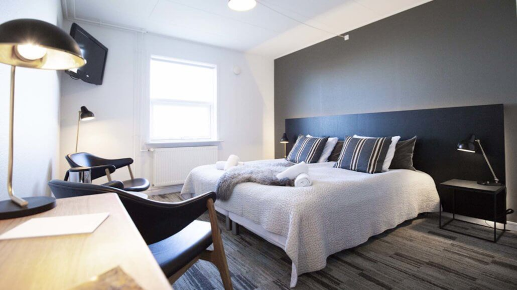 Doppelzimmer im Nordic-Style - Hotel Icefiord, Groenland