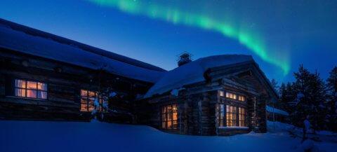 Luxury Lodge L7 in Finnland