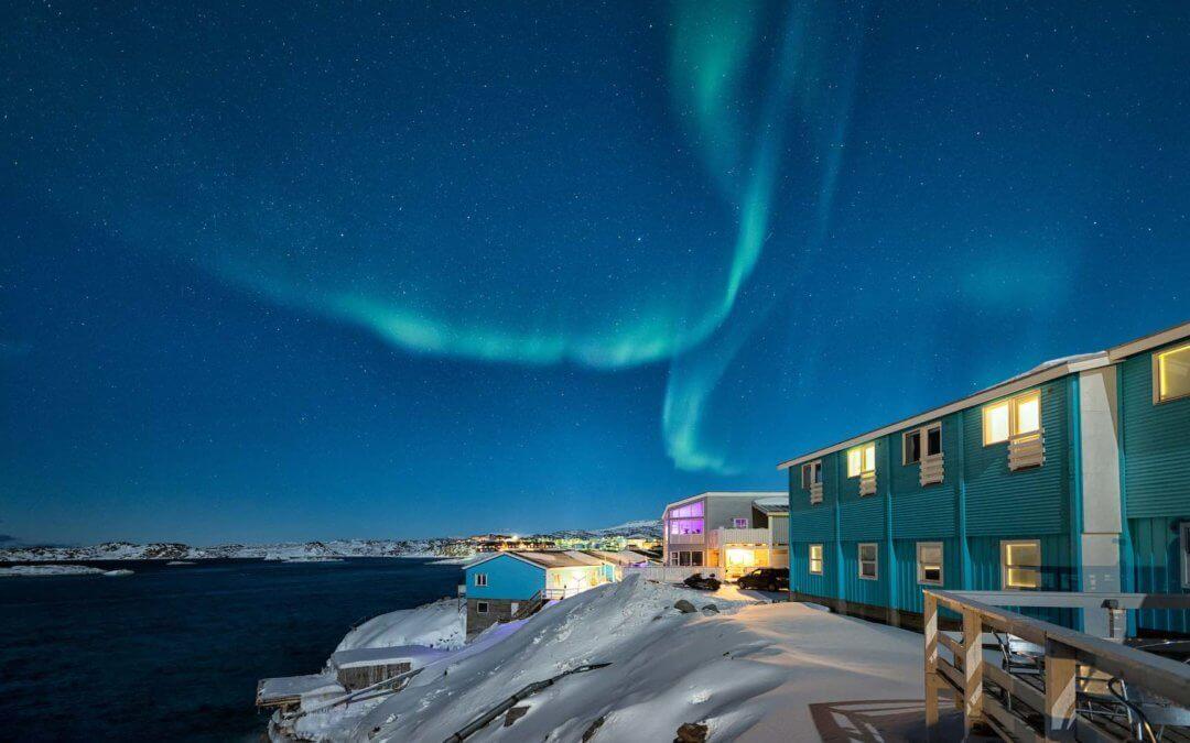 Hotel Icefiord – Eisberge vor der Haustür