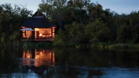 River Lodge direkt am Flussufer - Royal Chundu, Sambia