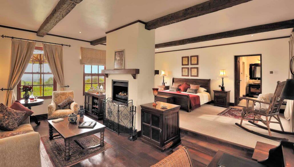 Schlafzimmer in der Cottage Suite - The Manor © Silverless / Elewana Collection