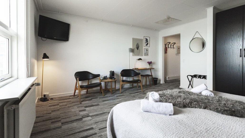Suite mit Sitzecke - Hotel Icefiord, Groenland