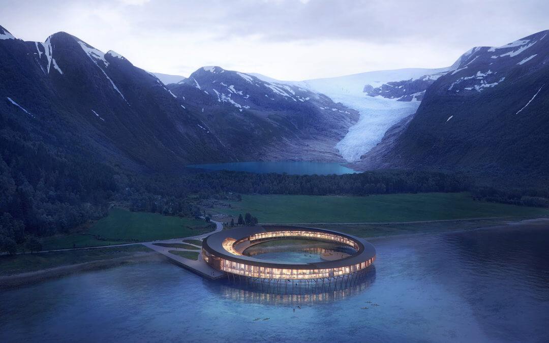 Svart – Das erste CO2-positive Hotel der Welt mit 360°-Blick