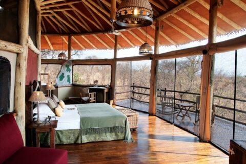 Tarangire Treetops, Tansania - Baumhaus Schlafzimmer