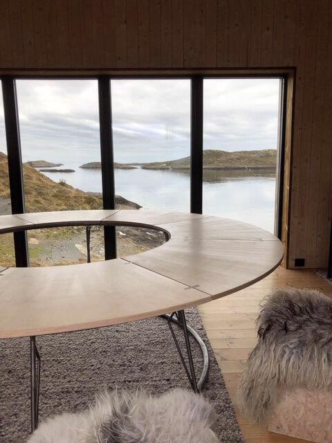 The Arctic Hideaway Blick nach draußen