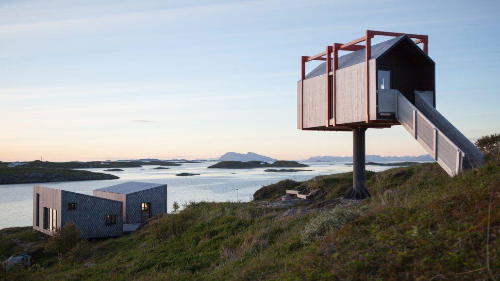 The Arctic Hideaway Vogelhaus