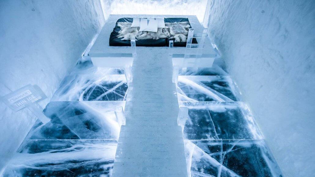Art Suite 365 im Icehotel 365 - ICEHOTEL, Schweden