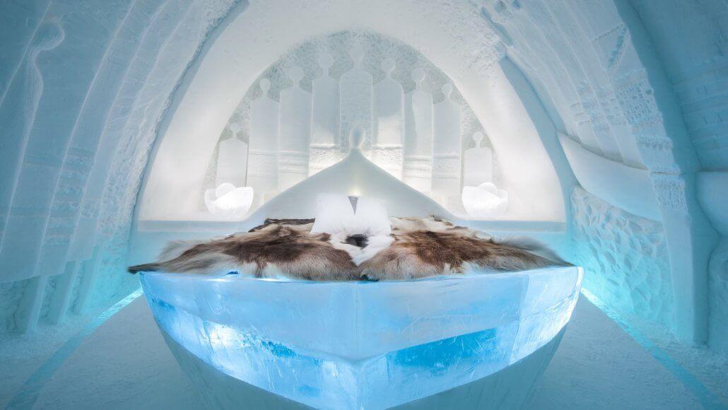 Art Suite im Icehotel - ICEHOTEL, Schweden