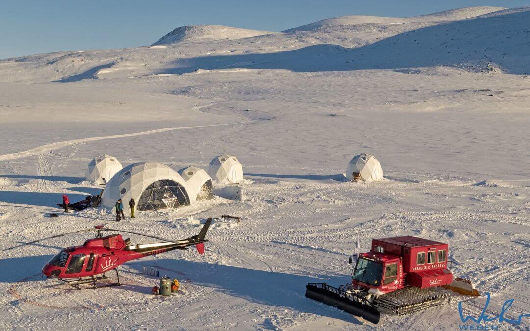 Basecamp Baffin Island – Private Off-the-Grid Ski-Action in Iglu-Zelten