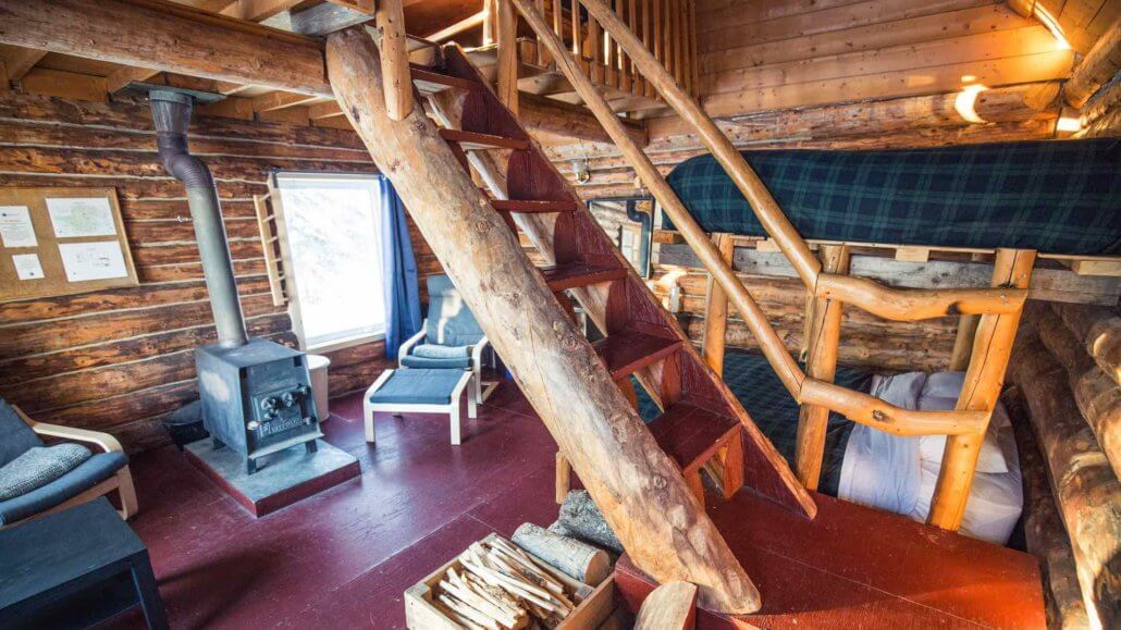 Beaver Cabin mit Holzofen - Blachford Lake Lodge, Kanada