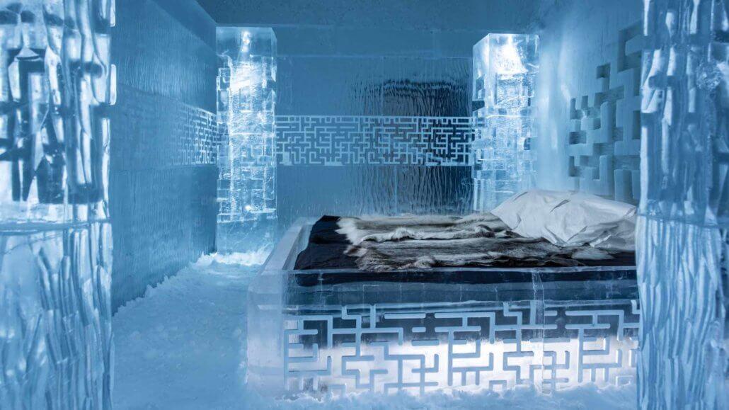 Deluxe Suite im Icehotel 365 - ICEHOTEL, Schweden
