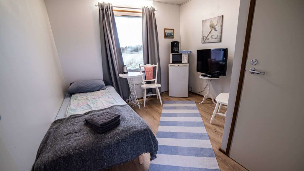 Einzelzimmer des Arctic Guesthouses - Arctic Guesthouse, Finnland