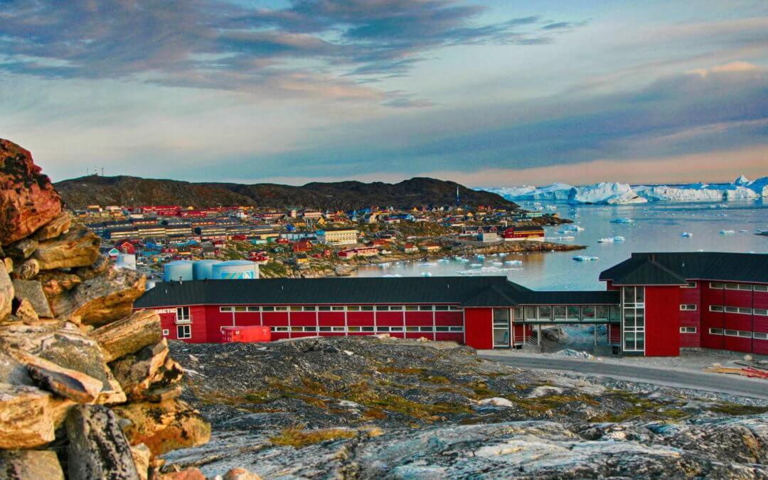 Hotel Arctic – Eisberge soweit das Auge reicht