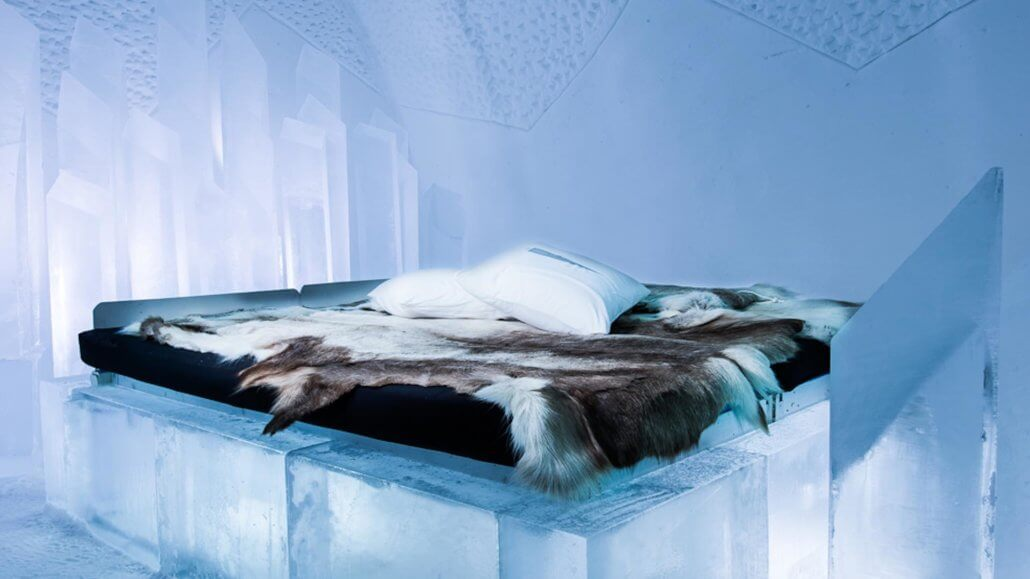 Ice Room im Icehotel - ICEHOTEL, Schweden