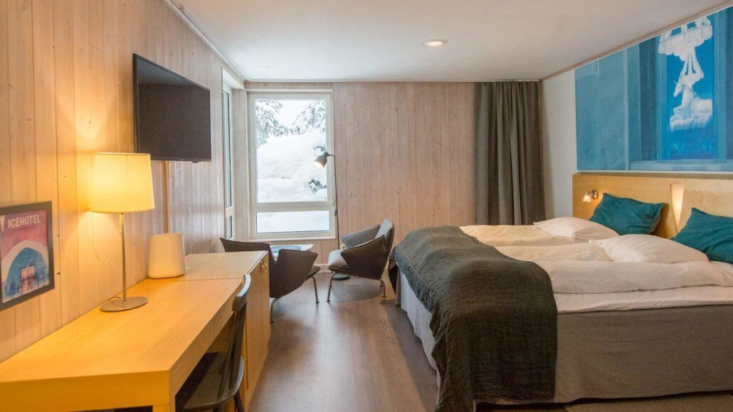 Kaamos Superior Room im Icehotel - ICEHOTEL, Schweden