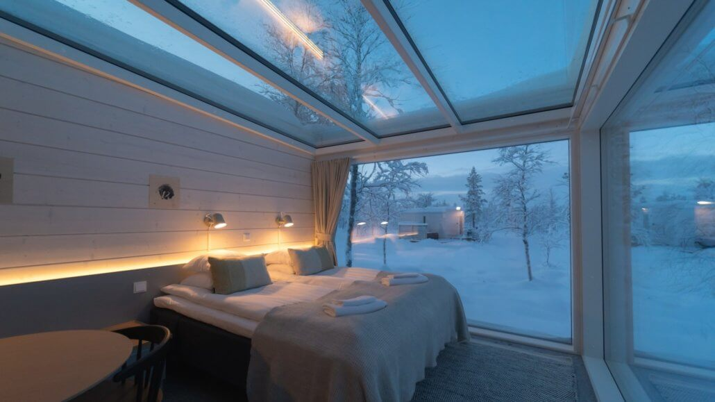 Northern Lights Ranch Finnland Standard Cabin