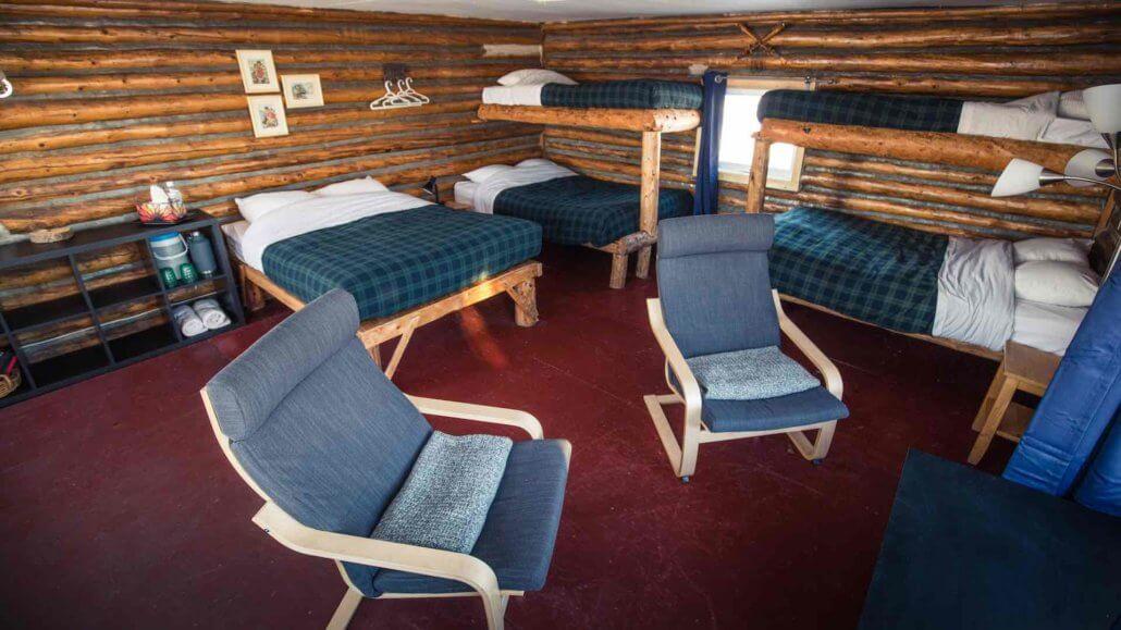 Old Trappers Cabin mit Sitzecke - Blachford Lake Lodge, Kanada